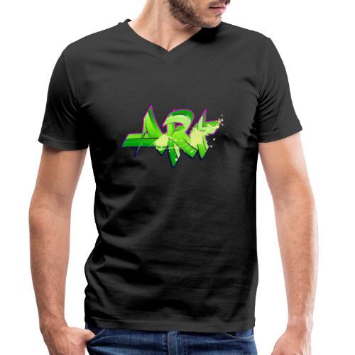 old school hip hop breakdance 17 - Ekologisk T-shirt med V-ringning herr från Stanley & Stella