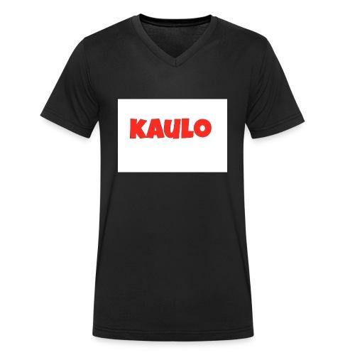 wit2 jpg - Mannen bio T-shirt met V-hals van Stanley & Stella