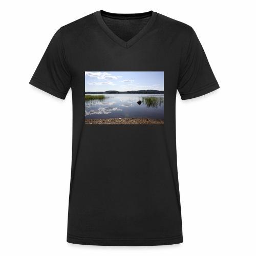 landscape - Men's Organic V-Neck T-Shirt by Stanley & Stella