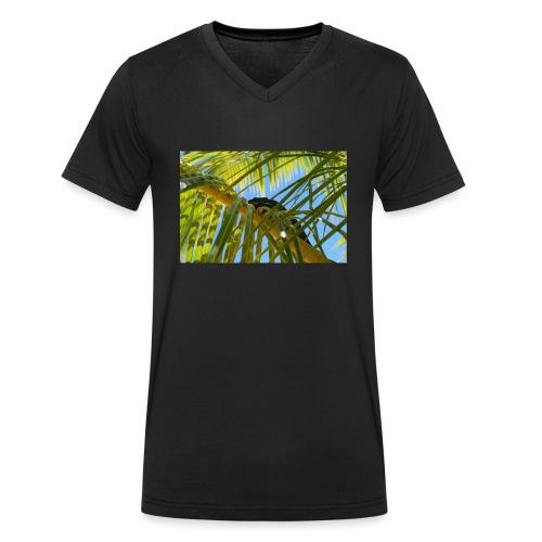 Camaleonte - T-shirt ecologica da uomo con scollo a V di Stanley & Stella