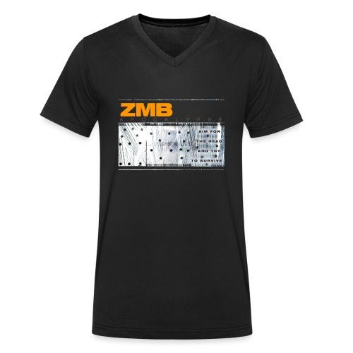 ZMB APOCALYPSE - Männer Bio-T-Shirt mit V-Ausschnitt von Stanley & Stella