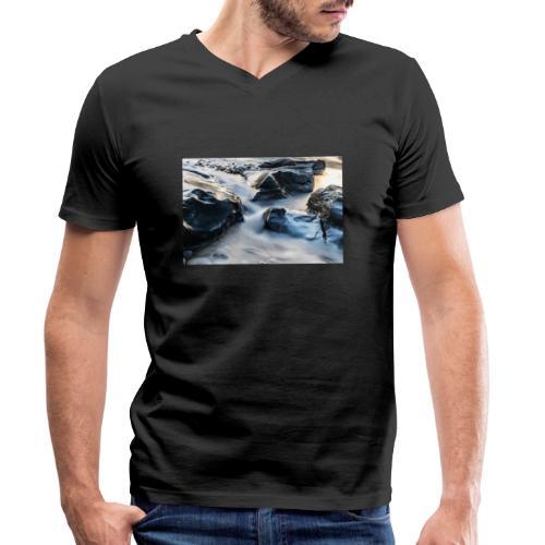 Sense LT 2 2 - Männer Bio-T-Shirt mit V-Ausschnitt von Stanley & Stella