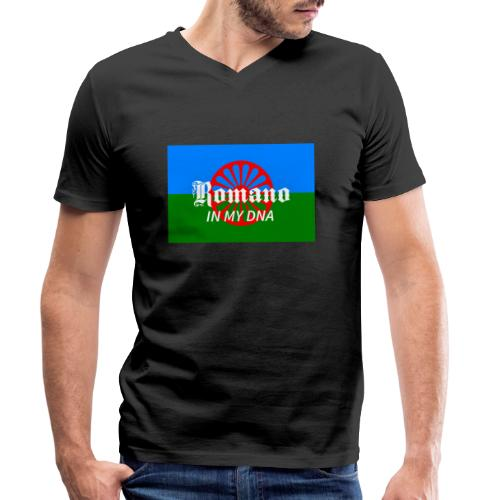 flaglennyinmydna - Ekologisk T-shirt med V-ringning herr från Stanley & Stella