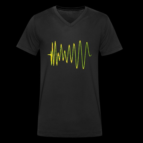 Boom 909 Drum Wave - Men's Organic V-Neck T-Shirt by Stanley & Stella