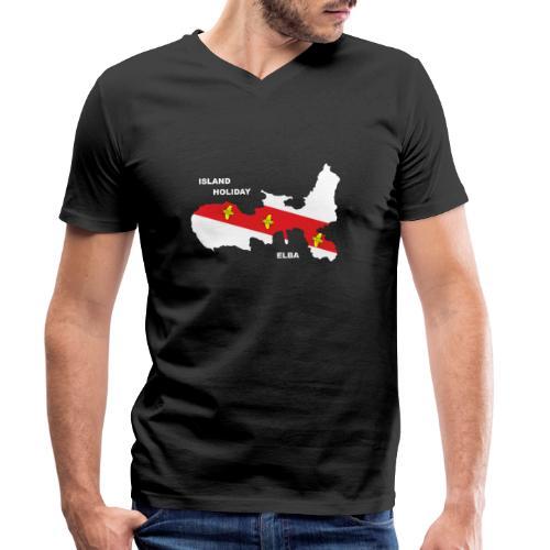 Elba Insel Urlaub Italien - Männer Bio-T-Shirt mit V-Ausschnitt von Stanley & Stella