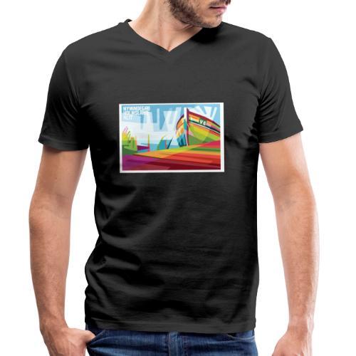 DK-Shirts Nymindegab Pop-Art - Männer Bio-T-Shirt mit V-Ausschnitt von Stanley & Stella