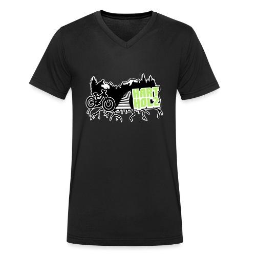 HARTHOLZ Freeride - Männer Bio-T-Shirt mit V-Ausschnitt von Stanley & Stella