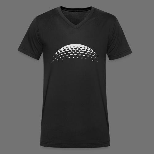 Golf Ball Golf - Ekologiczna koszulka męska z dekoltem w serek Stanley & Stella