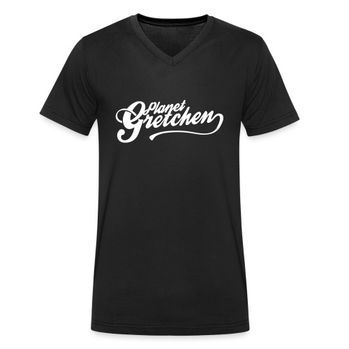 Planet Gretchen - Ekologisk T-shirt med V-ringning herr från Stanley & Stella