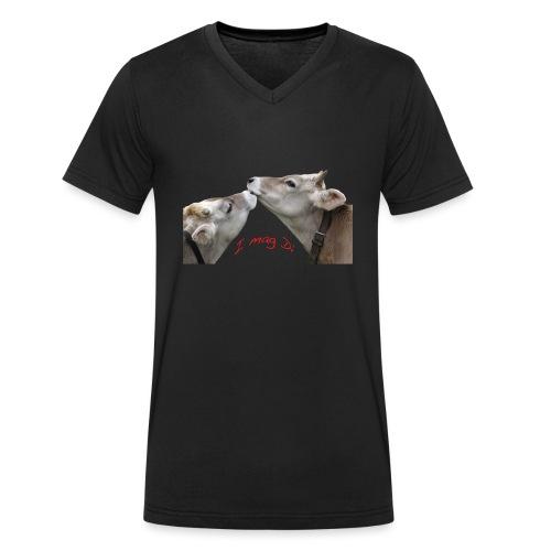 I mag Di - Männer Bio-T-Shirt mit V-Ausschnitt von Stanley & Stella