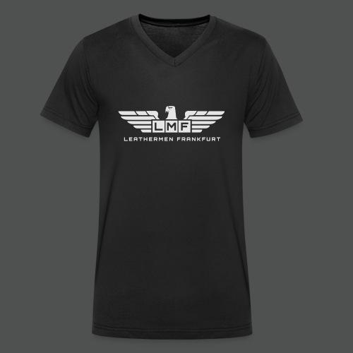 LMF grey - Männer Bio-T-Shirt mit V-Ausschnitt von Stanley & Stella