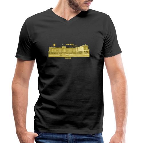 Summer Madrid City Spanien Spain Palacio Real - Männer Bio-T-Shirt mit V-Ausschnitt von Stanley & Stella
