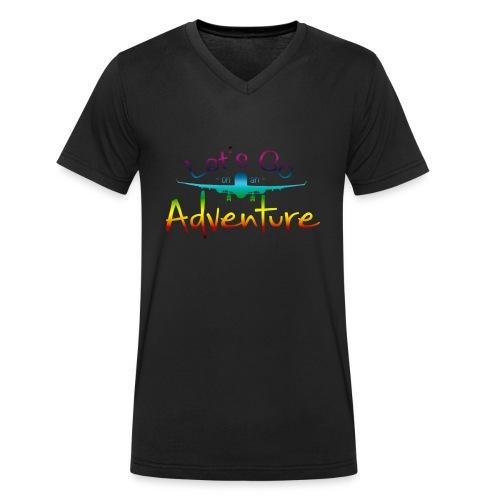 Adventure CL - Mannen bio T-shirt met V-hals van Stanley & Stella