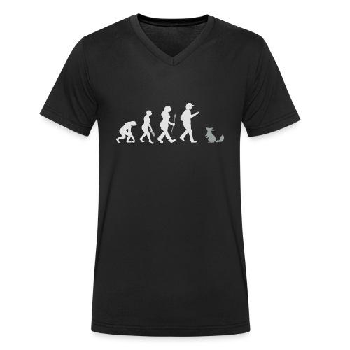 Go real! - Männer Bio-T-Shirt mit V-Ausschnitt von Stanley & Stella