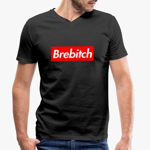 Brebitch Sup' - T-shirt bio col V Stanley & Stella Homme
