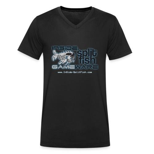 InSide SplitFish Collection - Männer Bio-T-Shirt mit V-Ausschnitt von Stanley & Stella