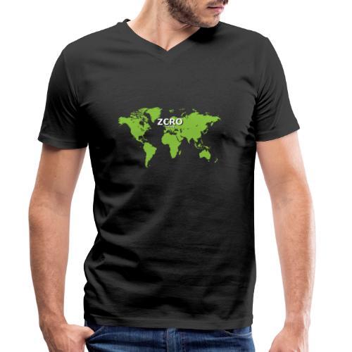 World Z€RO official - Men's Organic V-Neck T-Shirt by Stanley & Stella