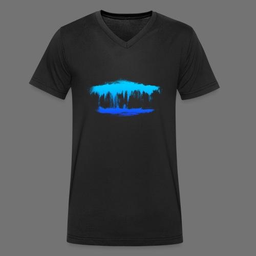 Wasserträume - Männer Bio-T-Shirt mit V-Ausschnitt von Stanley & Stella