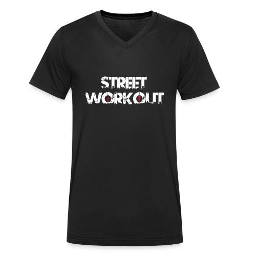 Street Workout - Männer Bio-T-Shirt mit V-Ausschnitt von Stanley & Stella