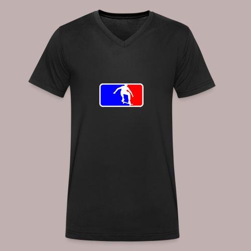 Skate league - Männer Bio-T-Shirt mit V-Ausschnitt von Stanley & Stella