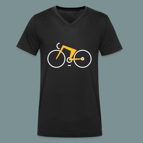 Bikes against cancer - Økologisk Stanley & Stella T-shirt med V-udskæring til herrer