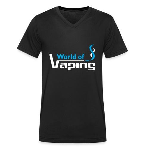 World of Vaping - Männer Bio-T-Shirt mit V-Ausschnitt von Stanley & Stella
