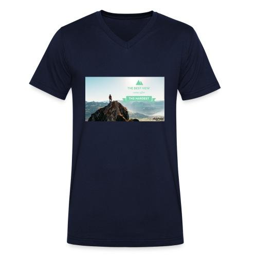 fbdjfgjf - Men's Organic V-Neck T-Shirt by Stanley & Stella