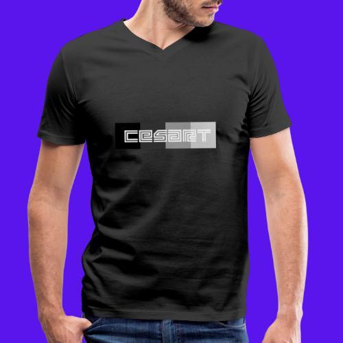 CESART LOGO WB - T-shirt bio col V Stanley & Stella Homme
