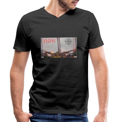 UYvr1gZtC3E - Ekologisk T-shirt med V-ringning herr från Stanley & Stella