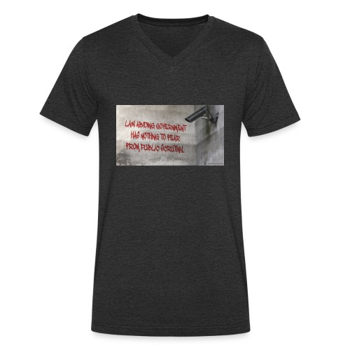 Nothing to Fear - Men's Organic V-Neck T-Shirt by Stanley & Stella