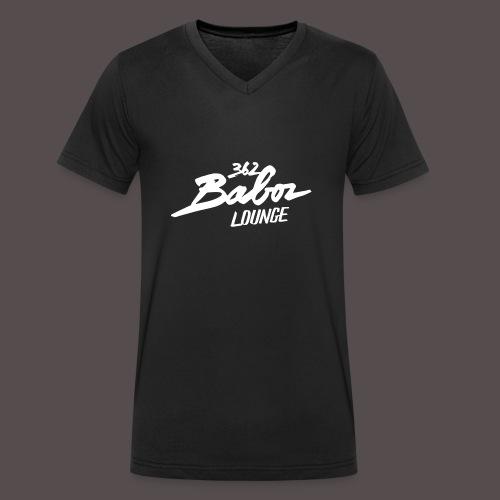 Männer T-Shirt 362BabozLOUNGE - Männer Bio-T-Shirt mit V-Ausschnitt von Stanley & Stella