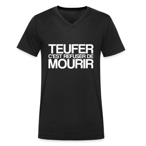 TEUFER - T-shirt bio col V Stanley & Stella Homme