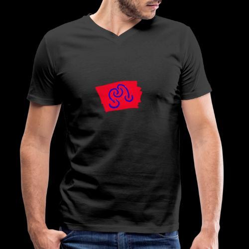Phantasie - Männer Bio-T-Shirt mit V-Ausschnitt von Stanley & Stella