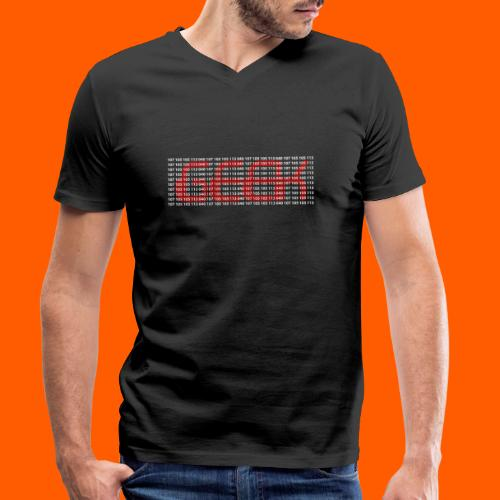 geekBl - T-shirt bio col V Stanley & Stella Homme