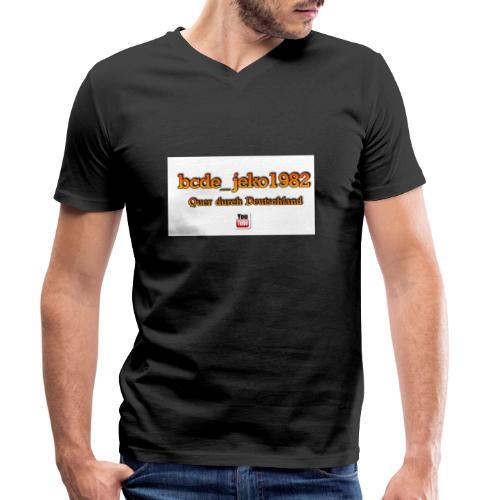 quer durch deutschland - Männer Bio-T-Shirt mit V-Ausschnitt von Stanley & Stella