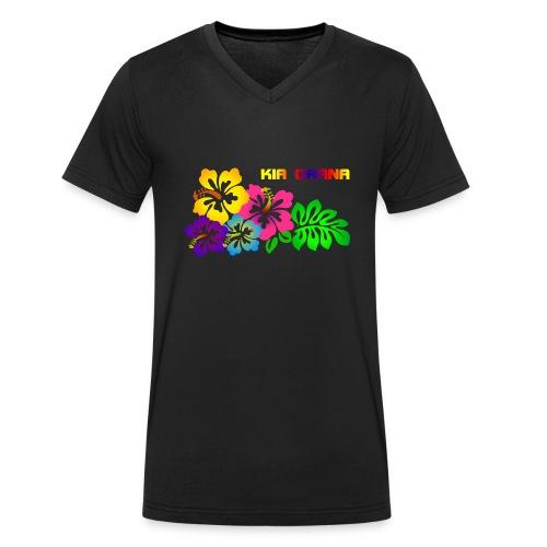 Kia orana - Männer Bio-T-Shirt mit V-Ausschnitt von Stanley & Stella