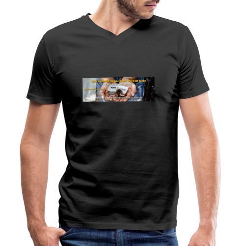 BIW-Cover - Mannen bio T-shirt met V-hals van Stanley & Stella