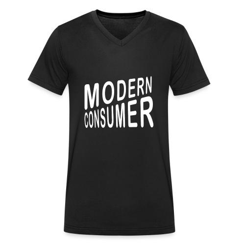 ModernConsumer Shirt - Männer Bio-T-Shirt mit V-Ausschnitt von Stanley & Stella