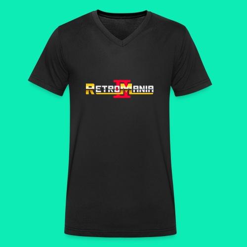 Retro Mania II - Logo - Männer Bio-T-Shirt mit V-Ausschnitt von Stanley & Stella