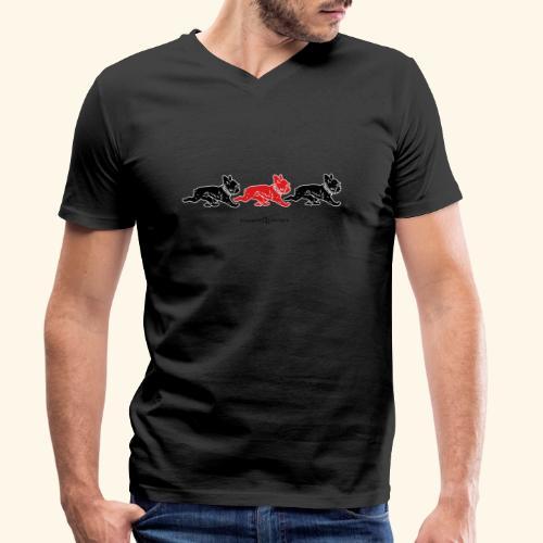 frenchies BR - T-shirt bio col V Stanley & Stella Homme