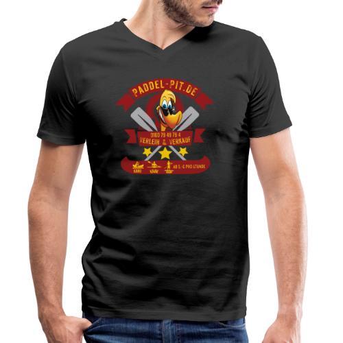 Paddel Pit - Männer Bio-T-Shirt mit V-Ausschnitt von Stanley & Stella
