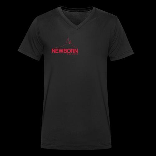 NEWBORN 2008 - Men's Organic V-Neck T-Shirt by Stanley & Stella