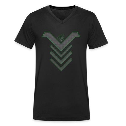 BRAWL-MESH-NEW-V1 - Mannen bio T-shirt met V-hals van Stanley & Stella