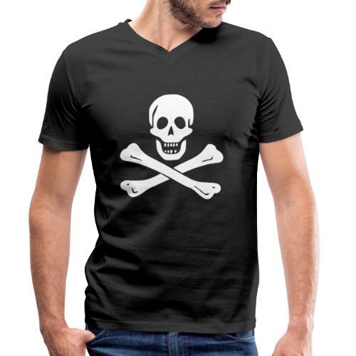 Edward England Flag - T-shirt bio col V Stanley & Stella Homme