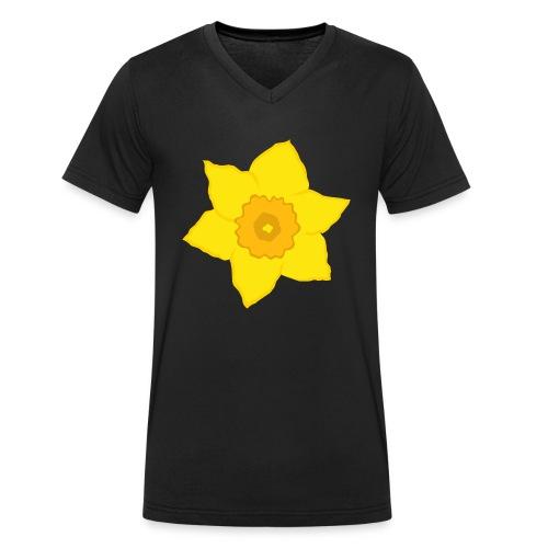 Osterglocke - Männer Bio-T-Shirt mit V-Ausschnitt von Stanley & Stella