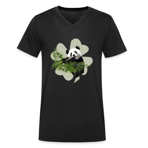 My lucky Panda - T-shirt bio col V Stanley & Stella Homme