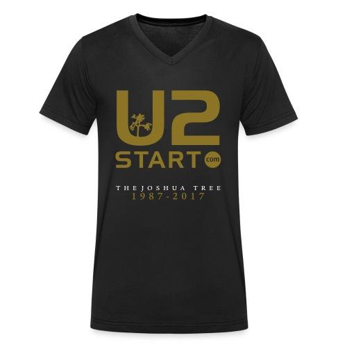 U2start Joshua Tree (alternate) - Men's Organic V-Neck T-Shirt by Stanley & Stella