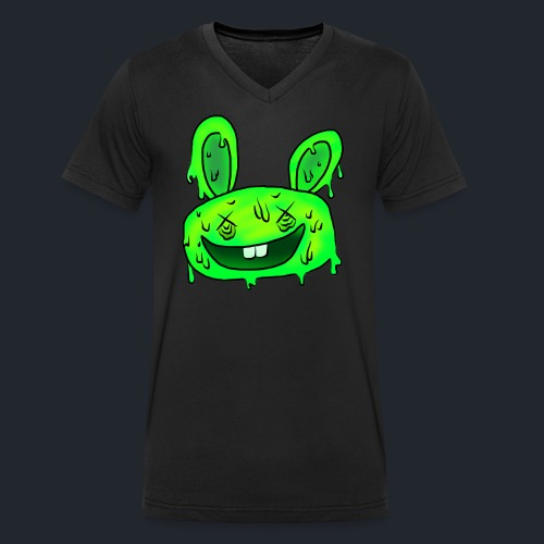 5 steps ahead Bunny - Men's Organic V-Neck T-Shirt by Stanley & Stella