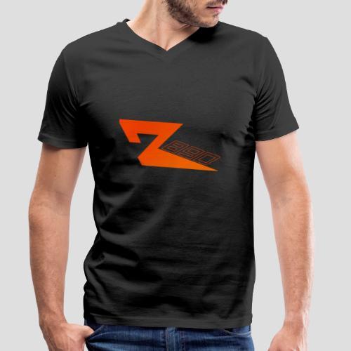 R 890 in Orange | für Herren und Damen - Männer Bio-T-Shirt mit V-Ausschnitt von Stanley & Stella