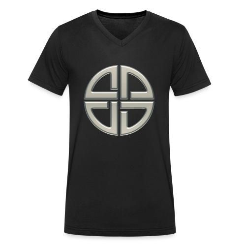 Schildknoten, Keltischer Knoten, Thor Symbol - Männer Bio-T-Shirt mit V-Ausschnitt von Stanley & Stella